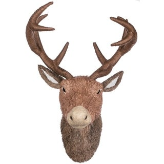 "Twig Deer Bust Wall Piece - 15""l x 11.5""w x 21.5""h"