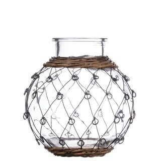 """Wire Pattern Container - 6.5""""l x 6.5""""w x 8""""h"""