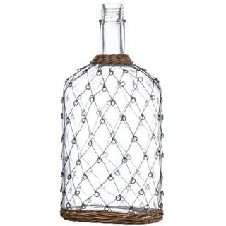 """Wire Pattern Bottle - 9""""l x 5.5""""w x 18.5""""h"""
