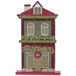"Town Square Village House Tabletop Decor - 7.75""l x 1.5""w x 12.25""h"