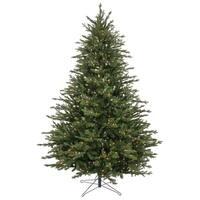 Green PVC Pre-lit Pine Tree