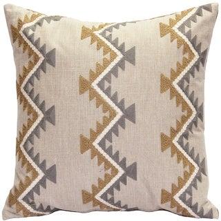 Pillow Decor - Tulum Ranch Embroidered Throw Pillow 20x20