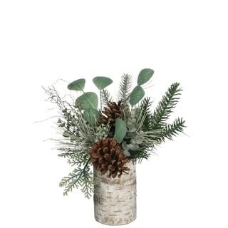 "Pine & Eucalyptus Arrangement - 15""l x 12""w x 12.5""h"