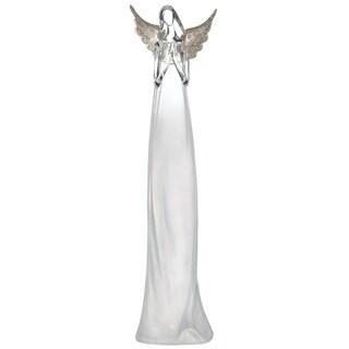 "Lighted Praying Angel Figurine - 4.5""l x 4""w x 17.5""h"