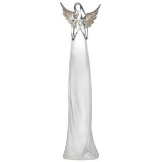 "Lighted Praying Angel Figurine - 4.5""l x 4""w x 17.5""h"