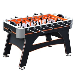 Trailblazer 56-in Foosball Table with Electronic Scoring - Orange and Black