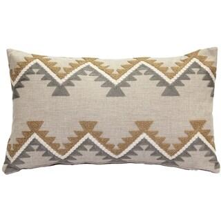 Pillow Decor - Tulum Ranch Embroidered Throw Pillow 12x20