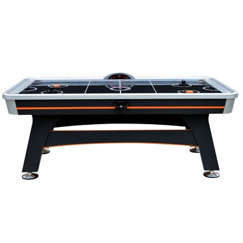 Trailblazer 7-ft Arcade Level Air Hockey Table with Electronic Scoring Unit and Sound Effects
