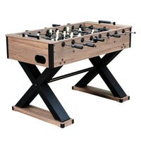 Excalibur 54-in Foosball Table - Driftwood Finish