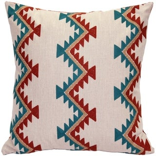 Pillow Decor - Tulum Coast Embroidered Throw Pillow 20x20