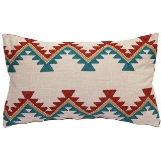 Pillow Decor - Tulum Coast Embroidered Throw Pillow 12x20