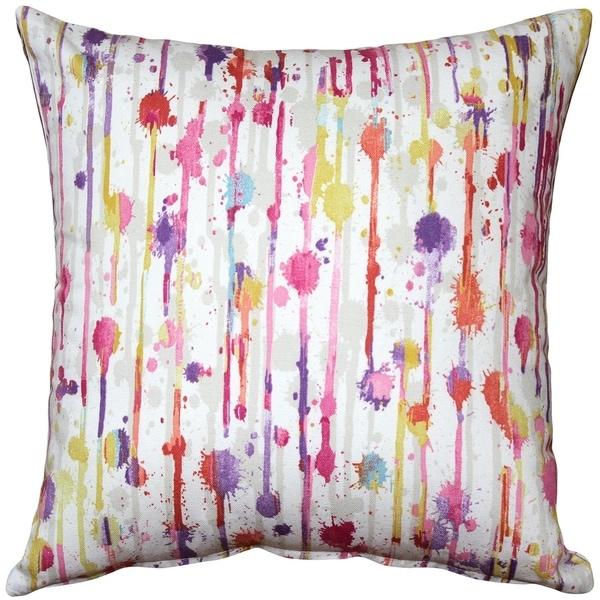 Pillow Decor - Paint Deco Fiesta Throw Pillow 20x20