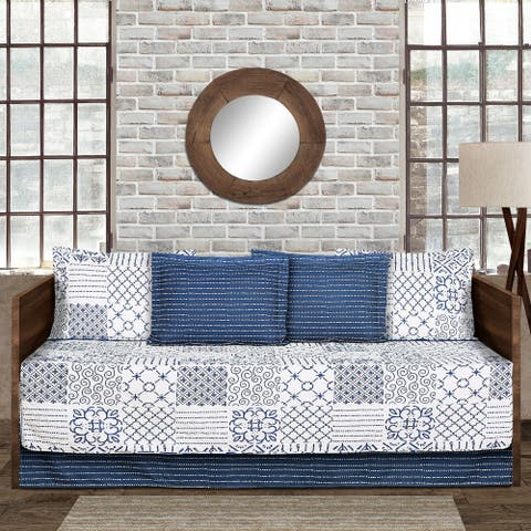 The Curated Nomad Sandia 6-piece Daybed Cover Set