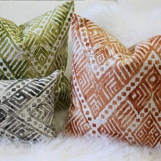 Pillow Decor - Tangga Throw Pillow (20X20, 12x20)