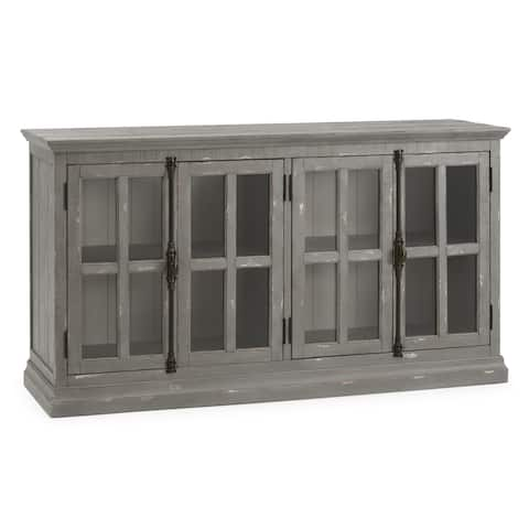 Loupin Media Console in Grey by RST Brands