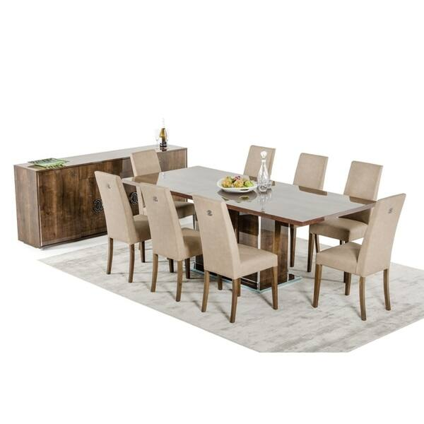 Modrest Athen Italian Modern Extendable Dining Table