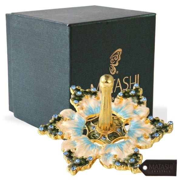 Hand-Painted Spinning Dreidel Holiday Ornaments Elegant Jewish Decor