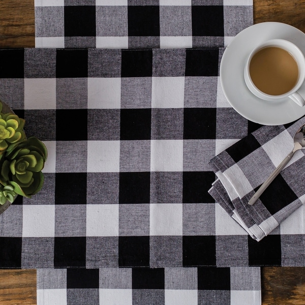 Griffin Check Table Runner. Opens flyout.