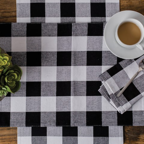 Griffin Check Table Runner - N/A
