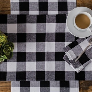 Griffin Check Table Runner