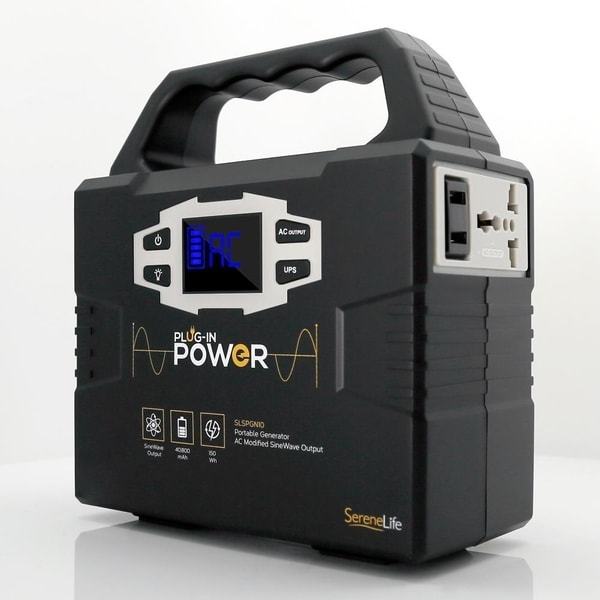 Shop SereneLife SLSPGN10 Portable Power Generator