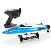 SereneLife SLRBT20 RC Speed Boat Wireless Remote Control Speed-Boat with Rechargeable Battery & USB Charger