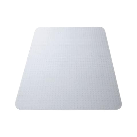 "HON 36"" W Studded Chair Mat, Office Chair Mat for Carpet, Clear (HONCM3648RS)"