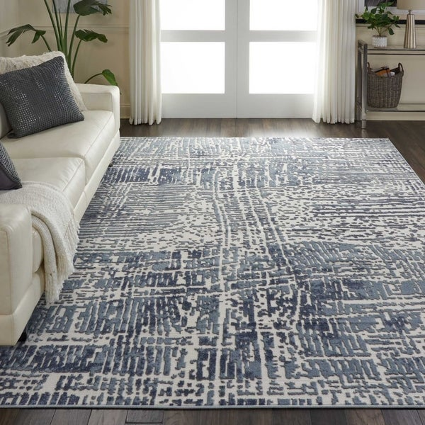 Nourison Urban Decor URD01 Abstract Area Rug