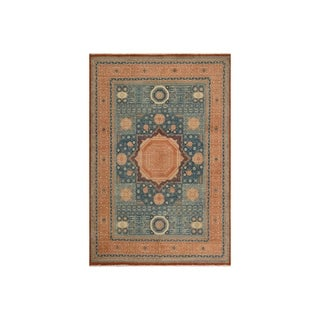 "Mamluk Ron Rust/Rust Wool Rug - 9'9 x 13'6 - 9'9"" x 13'6"""
