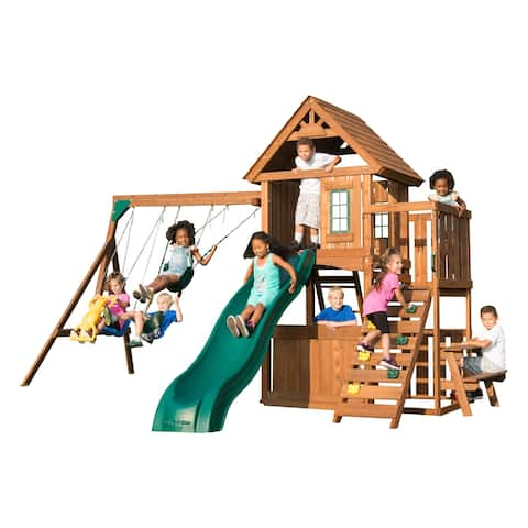 Tioga Fort Swing Set