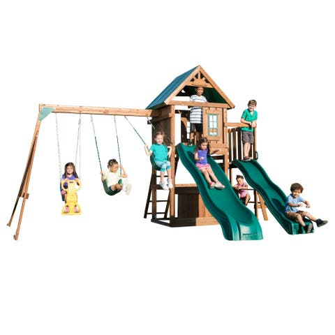 Willows Peak Deluxe Swing Set