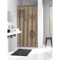 Sealskin Extra Long Shower Curtain 78 x 72 Inch Savon De Provence Linen