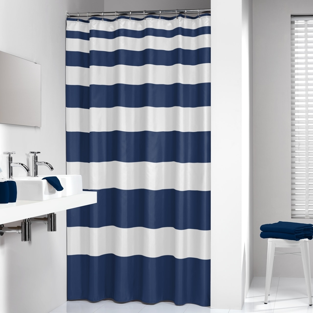 Sealskin Extra Long Shower Curtain