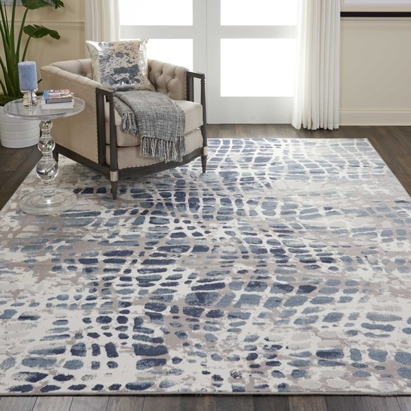 Shop Nourison Urban Decor Urd04 Abstract Area Rug On