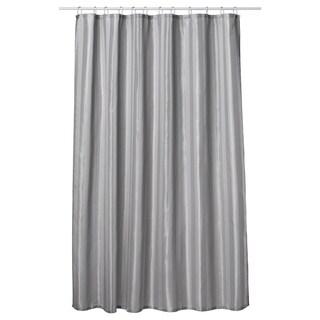 Gamma Extra Long Shower Curtain 78 X 72 Inch Dove Gray Fabric