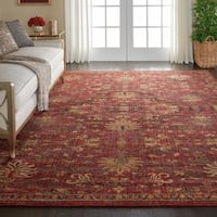 Nourison Vintage Tradition Brick Area Rug - 9' x 12'