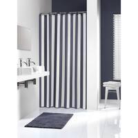 Sealskin Extra Long Shower Curtain 78 x 72 Inch Linje Blue