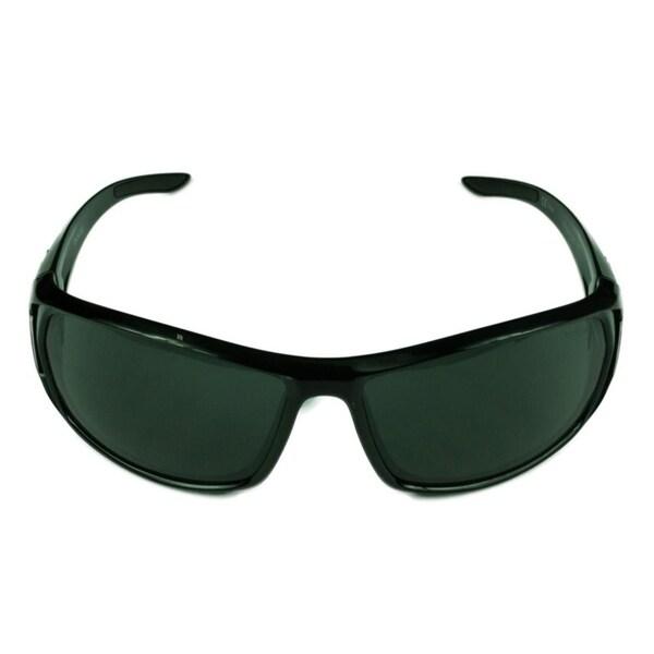b2f5d9391b4ae Shop Bolle Blacktail Mens Shiny Black w  TNS Lens Sunglasses - Free ...