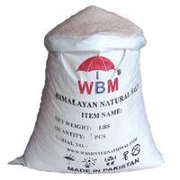 Himalayan Chef Natural Pure Fine Grain Pink Salt Bag, 50 lbs