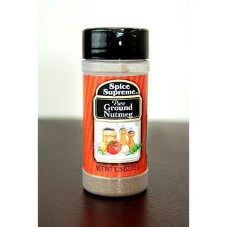 Pack of 12 Spice Supreme Pure Ground Nutmeg Spice 1.25 oz. #38026