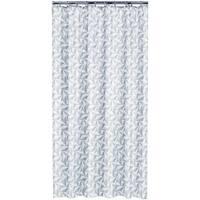Sealskin Extra Long Shower Curtain 78 x 72 Inch Piega Gray Fabric