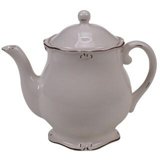Certified International Vintage Cream Teapot