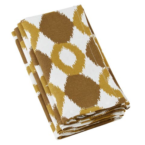 Cotton Napkins With Ikat Design (Set of 4)