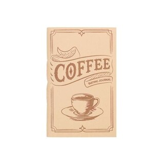 Handmade Coffee Tasting Pocket Journal (India) - N/A