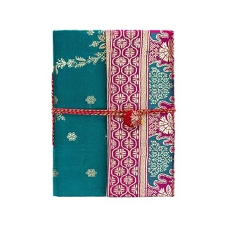 Handmade Nityagata Silk Sari Journal - Assorted (India)