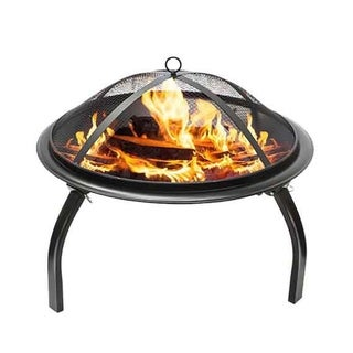 Brookdale Steel Wood Burning Portable Fire Pit by Westin Furniture