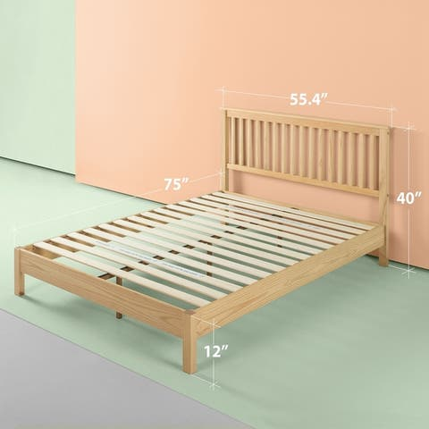 Buy Full Size Platform Bed Tan Online At Overstock Our