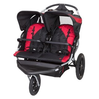 Baby Trend Navigator Lite Double Jogger,Candy Apple