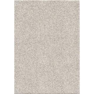 "Orian Rugs Plush Shag Horton Check Grey Area Rug - 5'3"" x 7'6"""