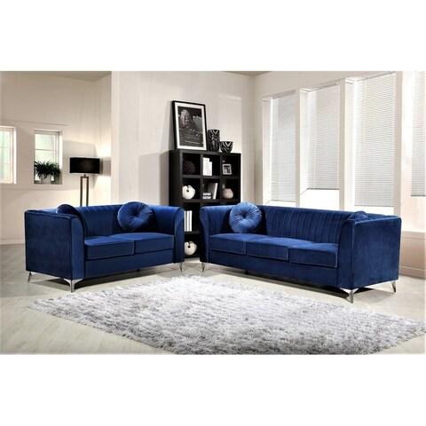 Aadvik 2 Piece Living Room Set
